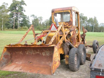 Allis Chalmers Model D Grader